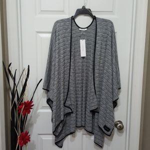 Calvin Klein knit Shawl One Size